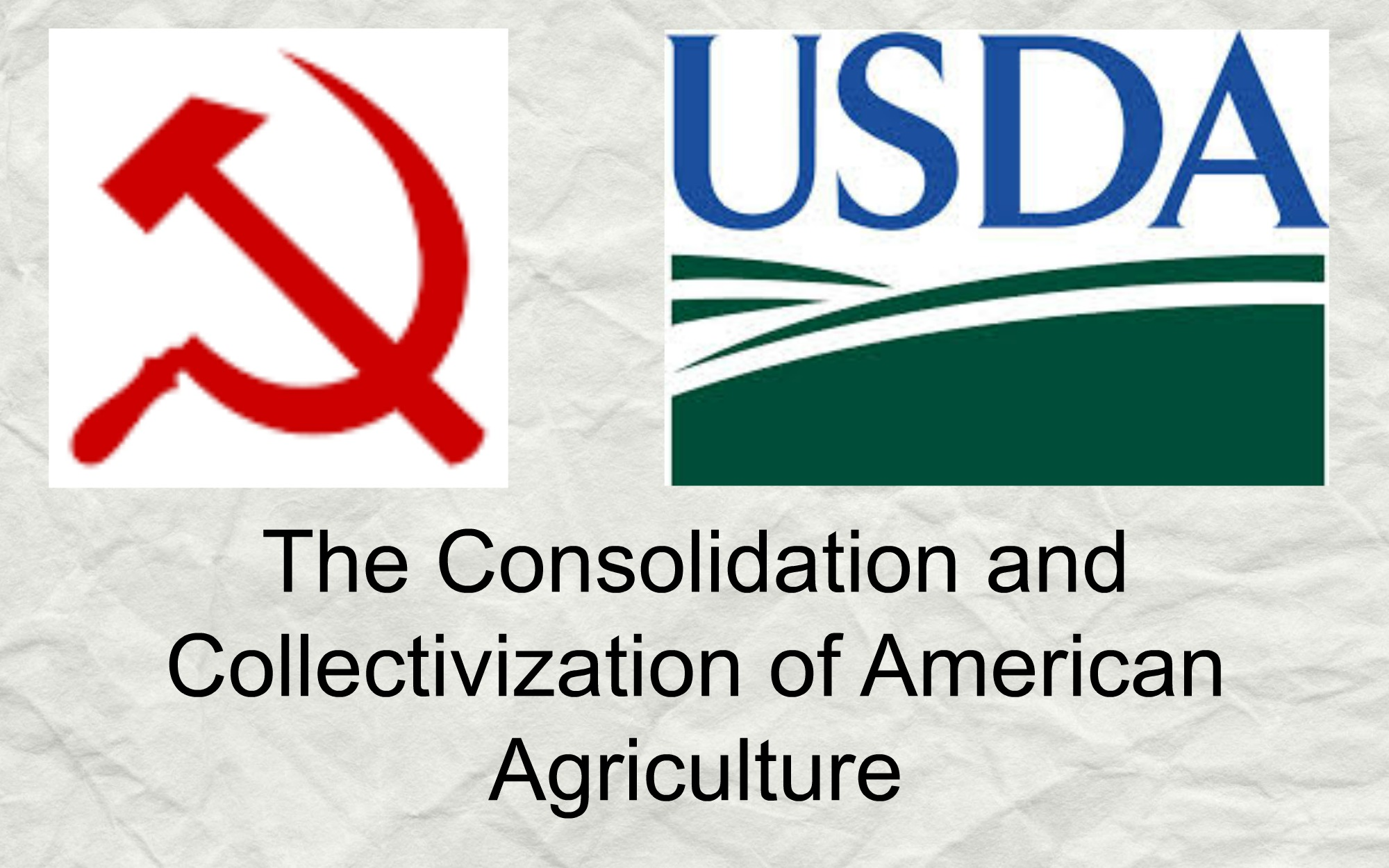 UntitledThe Consolidation and Collectivization of American Agriculture