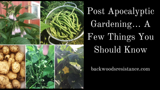 Post Apocalyptic Gardening… A Few Things You Should Know