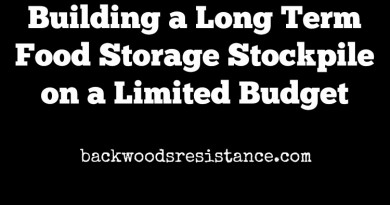 Building a Long Term Food Storage Stockpile on a Limited Budget
