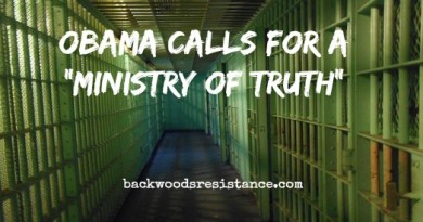Obama Calls For Ministry Of Truth