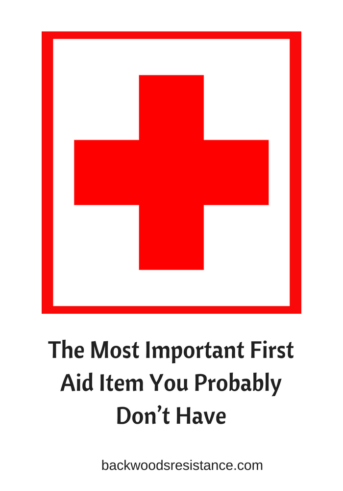 The Most Important First Aid Item You Probably Don't Have(1)