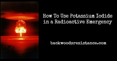 How To Use Potassium Iodide in a Radioactive Emergency